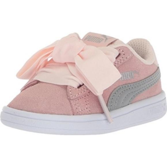 89ca4614285c7c Puma Baby Girl V2 Smash Suede Sneakers